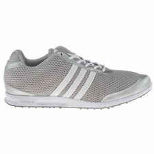 Women's Adidas Adicross Spikeless Golf Cleats Shoes Silver Grey Size 9.5