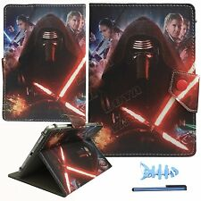 """2016 Hot cartoon Star Wars The Force Awake leather case for 7.0 7.7 7.9"""" tablet"""