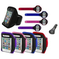 Color Running Sports Gym ArmBand+Car Charger for iPhone 4 4G 4S 3GS S 3G 2G