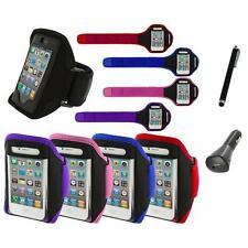 Color Running Sports Gym ArmBand+Charger+Pen for iPhone 4 4G 4S 3GS S 3G 2G