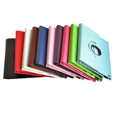 360° Rotating PU Leather Smart Cover Stand Case for Apple iPad Air 5th Gen TM