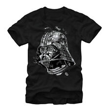 Star Wars Darth Vader Death Star Mens Graphic T Shirt