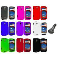 Color Hard Snap-On Case Cover+Car Charger for Samsung Epic 4G Phone Accessory
