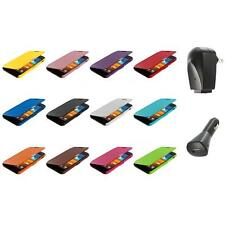 For Samsung Sprint Galaxy S2 S II Epic Touch 4G Wallet Case Cover+2X Chargers