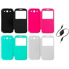 For Samsung Galaxy S3 Back Rear Slim Battery Door Cover Case Aux Cable