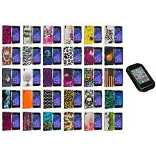 For Sony Xperia Z2 Hard Design Snap-On Matte Case Cover Accessory Sticky Pad