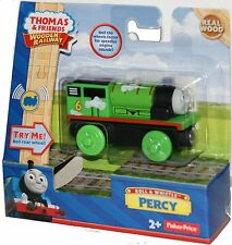 ROLL & WHISTLE SOUNDS PERCY Thomas Tank Engine Wooden Railway NEW IN BOX