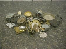 Lot of  Brass Clock Movements and Parts for Repair Steam Punk Altered Art E716