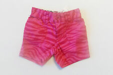 The Childrens Place Infant Girls Pink Tiger Striped Shorts Size 6-9 Months NWT