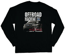long sleeve t-shirt for men Ford F150 truck built ford tough trucks black shirt