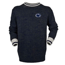 Bruzer Penn State Nittany Lions Navy Work Sock Crew Neck Sweater