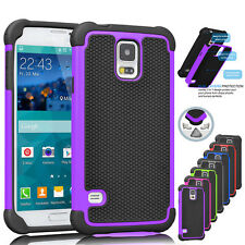 Hybrid Rubber Shockproof Hard Impact Case Cover For Samsung Galaxy S5 i9600
