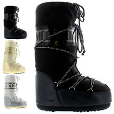 Womens Tecnica Moon Boot Delux Winter Wateproof Snow Mid Calf Boot UK 2.5-7.5
