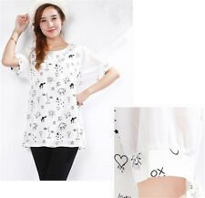New Fashion Maternity Pregnant Shirt Breastfeeding Nursing Clothes Two Styles