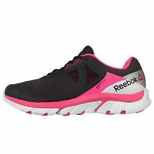 Reebok Reebok Zstrike Run Grey Pink Womens Running Shoes Sneakers V72079