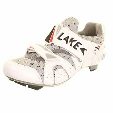 Lake TX212 Tri Cycling Shoes Womens SPD Cleat Compatible White Cycle Bike