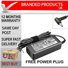 Genuine Original Laptop Power Supply Ac Adapter Charger Hp Probook Blue Tip Pin