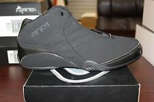 And 1 Basketball Sneakers Rocket 3.0 Mid Black D1051MBB Brand New in Box