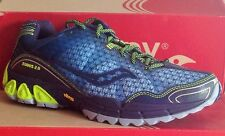 SAUCONY PROGRID XODUS 2-Womens Running New Shoes-Blue/Navy/Yellow-10080-3