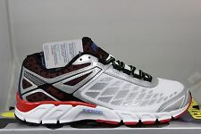 Men's FILA Dashtech Energized White Metallic Silver Fila Red Brand New