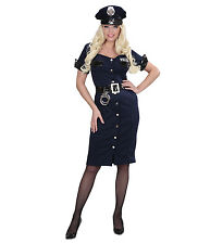 POLICE OFFICER WOMAN GIRL COP FANCY DRESS COSTUME