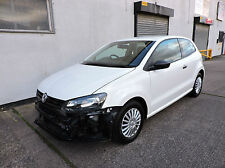 60 Volkswagen Polo 1.2 S Damaged Salvage Repairable Cat D V5