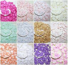 100 Hydrangea Scrapbook Mulberry Paper Flower Wedding Card Artificial Crafts DIY