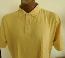 NWT Tommy Hilfiger Yellow Polo Shirt Hilfiger Denim Size L and XXL