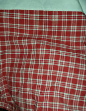 Pottery Barn Red Plaid Bedding For Good Nights Rest