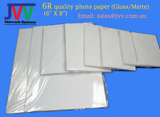 "6R (6"" X 8"") Quality Photo Paper (Matte/Gloss) 20 sheets/pack"