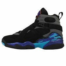 Nike Air Jordan 8 Retro BG GS Aqua AJ8 Black Friday Grey Concord Kids 305368-025