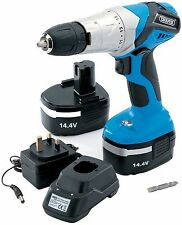 Draper 20495 14.4-Volt Cordless Hammer Drill with Two Ni-CD Batteries Draper