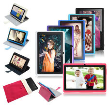 """7"""" Google Android 4.2 Kids Tablet PC 8G Dual Core Cameras WIFI w/ Case+Red Pouch"""