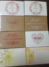 50 x Gift Cards Florist Place Cards Gift Tags Happy Mothers Day Invitations