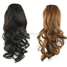 Multi-Color Women Girls Drawstring Synthetic Wigs Ponytail Wavy Ladies Wigs