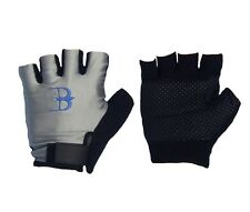 FINGERLESS PADDED COMFORT SPORTS GLOVE M TO XL WASHABLE CYCLING GYM WHEELCHAIR
