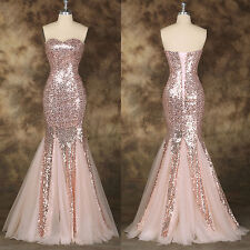 Plus Size Mermaid Tulle Sweetheart Floor Length Prom Gowns Evening Wedding Dress