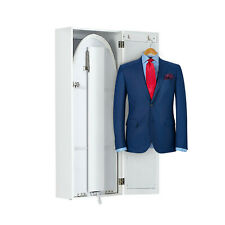 Ironing Board Cabinet Organizer with Storage and Mirror Hide Away Wall Mount