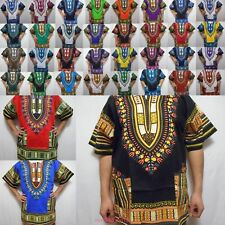 Dashiki Caftan Shirt Tribal African Hippie Rasta Blouse Top Men Wholesale Lot 10