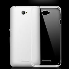 Transparent Clear TPU Silicone Gel Soft Case Skin Cover For Sony Xperia series J