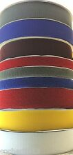 HOOK LOOP TAPE SEW ON COLOURS 25/50/100MM. SEE SELF ADHESIVE IN MY OTHER LISTING