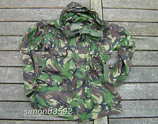 BRITISH ARMY SURPLUS G1 ISSUE WOODLAND S95 DPM CAMO WINDPROOF SMOCK-SAS/PARA/