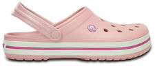 Crocs Crocband Clogs - Pearl Pink/Wild Orchid
