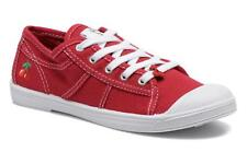 Kids's Le temps des cerises Lc Basic 02 Low rise Trainers in Red