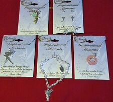 NWT Disney Inspirational Moments Tinker Bell Necklace Bracelet OR Earrings