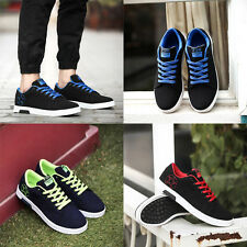 Men's Causal Shoes Board Sport Shoes Fashion Low Sneakers Running Lace Up Flats