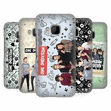 OFFICIAL ONE DIRECTION GROUP PHOTO DOODLE ICON HARD BACK CASE FOR HTC PHONES 1