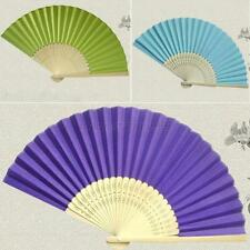 Summer Mini Paper Bamboo Folding Fan Cool Chinese Hand Held Fan Pocket Fan M74