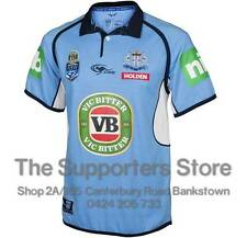 New South Wales Blues 2016 State Of Origin Classic Collar Jersey Size S-5XL!