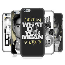 OFFICIAL JUSTIN BIEBER PURPOSE B&W HARD BACK CASE FOR APPLE iPHONE PHONES